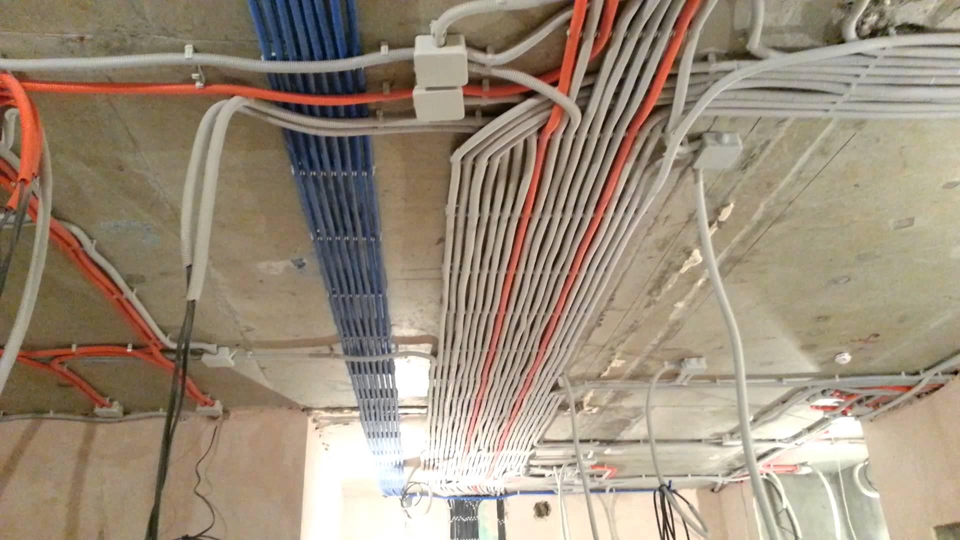 Как сделать электропроводку на балкон